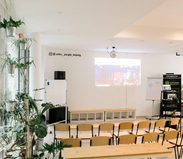 URBN JUNGLE Coworking - Event Location mieten in Leipzig