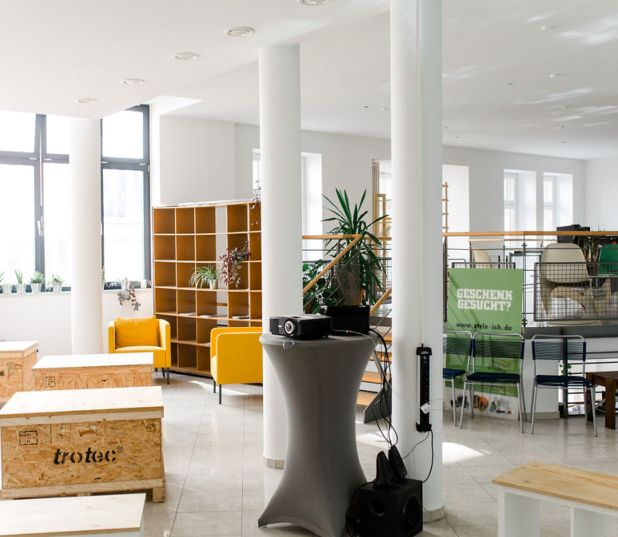 URBN JUNGLE Coworking - Location mieten in Leipzig